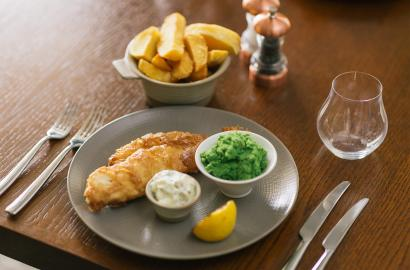British classics - fish and chips